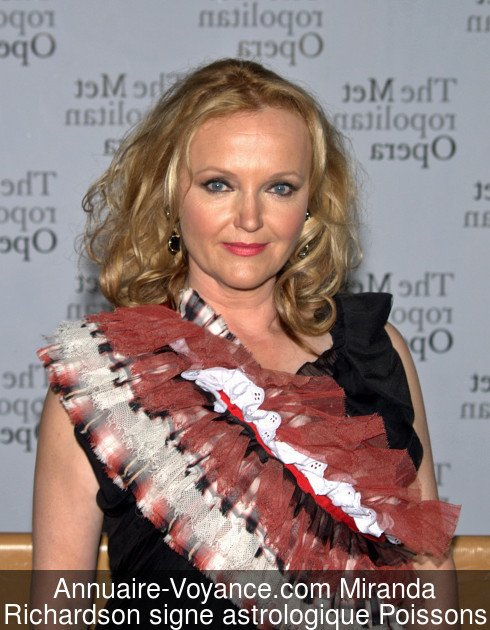 Miranda Richardson Poissons