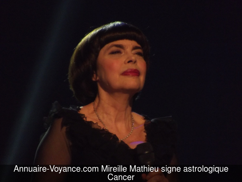 Mireille Mathieu Cancer