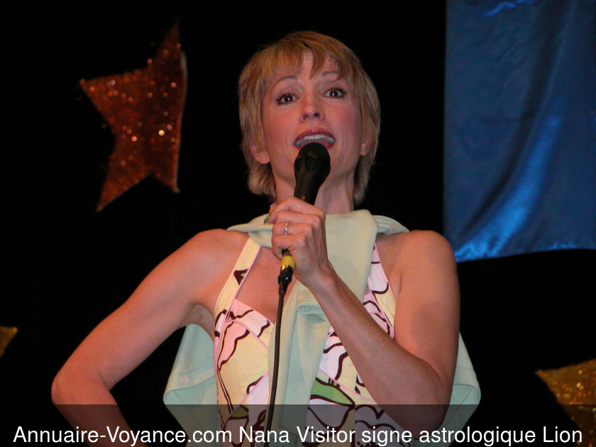 Nana Visitor Lion
