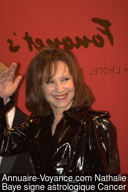 Nathalie Baye Cancer
