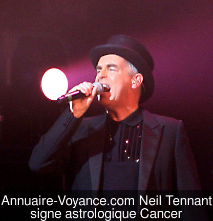 Neil Tennant Cancer