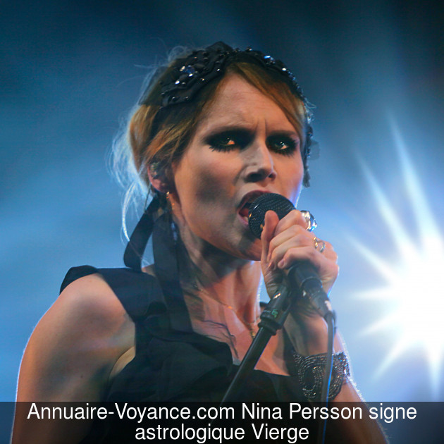 Nina Persson Vierge