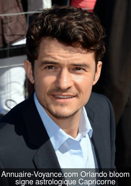 Orlando bloom Capricorne