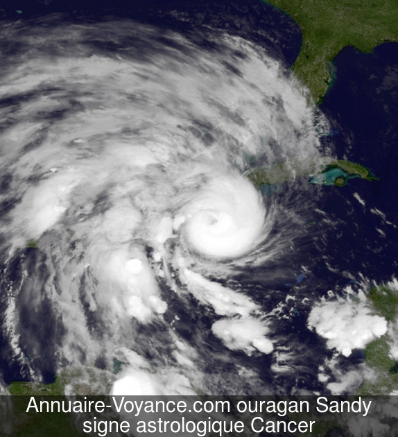 ouragan Sandy Cancer