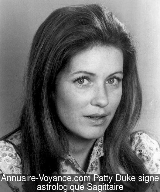 Patty Duke Sagittaire