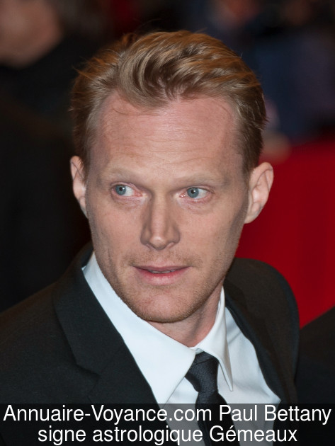 Paul Bettany Gémeaux