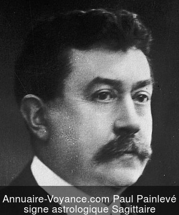 Paul Painlevé Sagittaire