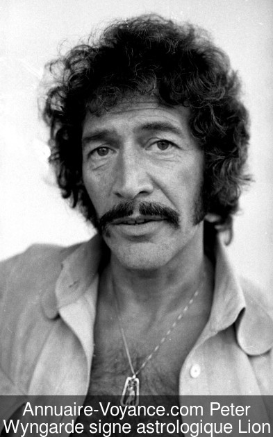 Peter Wyngarde Lion