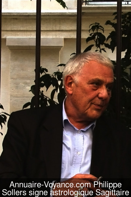 Philippe Sollers Sagittaire