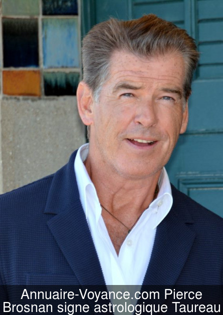 Pierce Brosnan Taureau