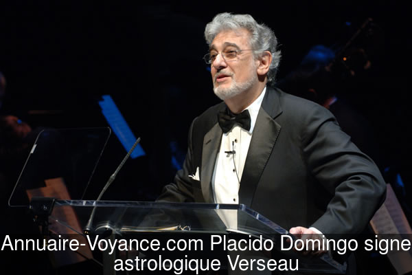 Placido Domingo Verseau