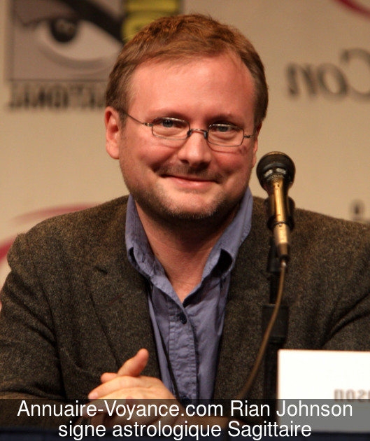 Rian Johnson Sagittaire