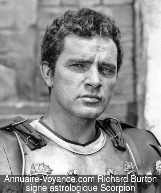 Richard Burton Scorpion