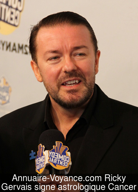 Ricky Gervais Cancer