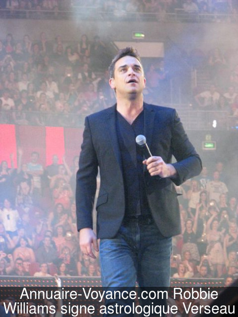 Robbie Williams Verseau