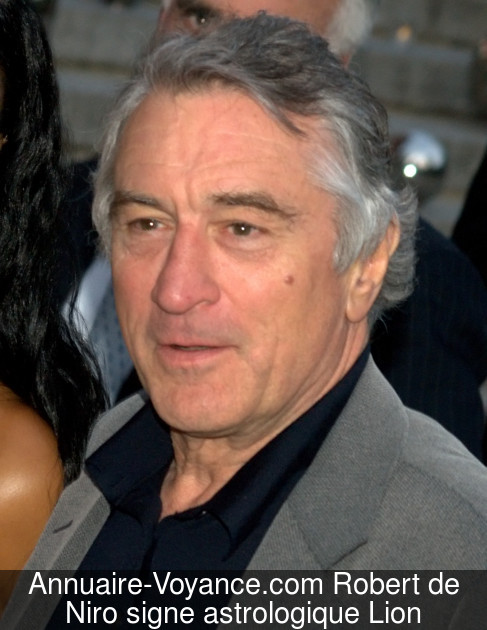 Robert de Niro Lion