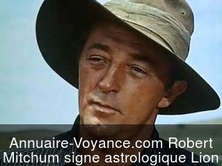 Robert Mitchum Lion