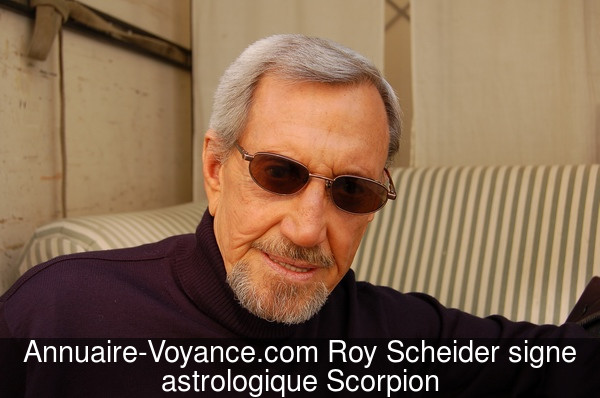 Roy Scheider Scorpion