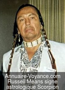 Russell Means Scorpion
