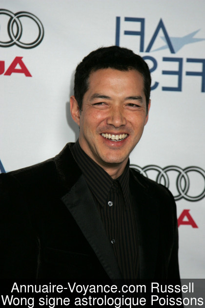 Russell Wong Poissons