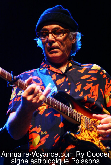 Ry Cooder Poissons