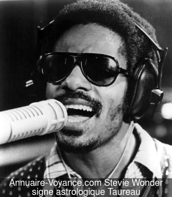 Stevie Wonder Taureau