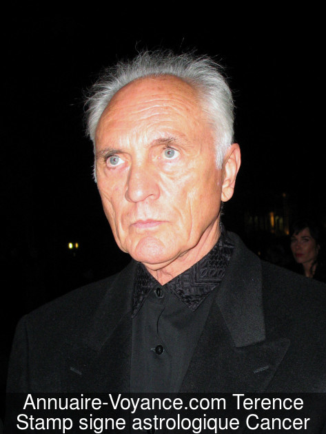Terence Stamp Cancer