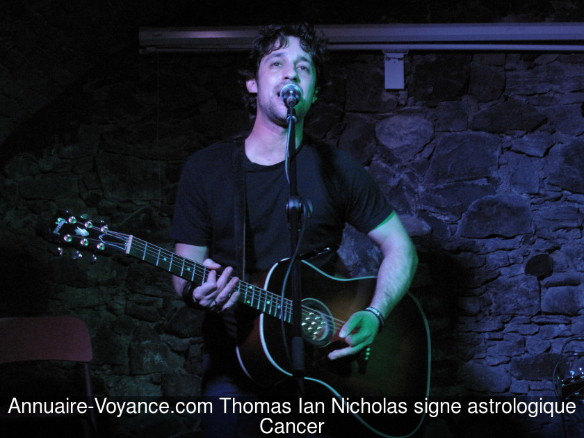 Thomas Ian Nicholas Cancer