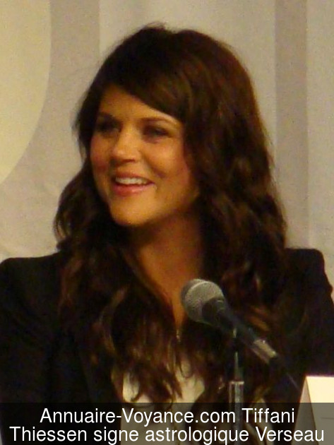 Tiffani Thiessen Verseau