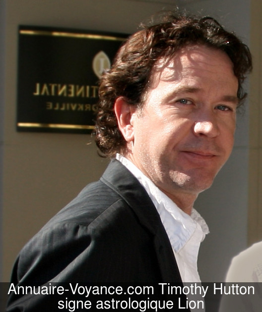 Timothy Hutton Lion