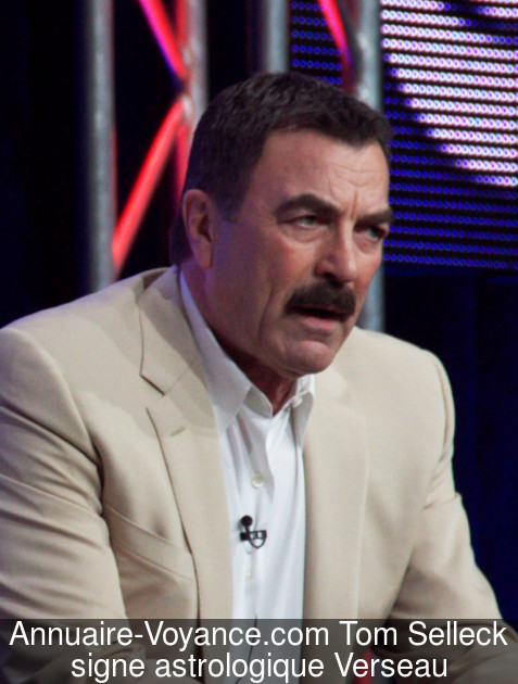 Tom Selleck Verseau