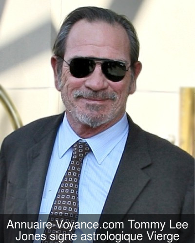 Tommy Lee Jones Vierge