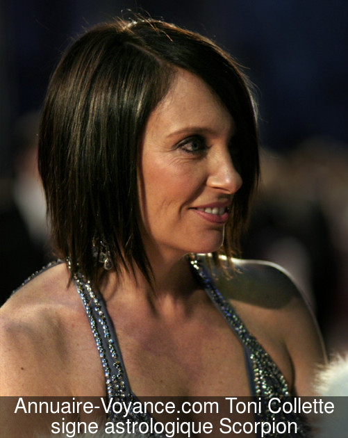 Toni Collette Scorpion