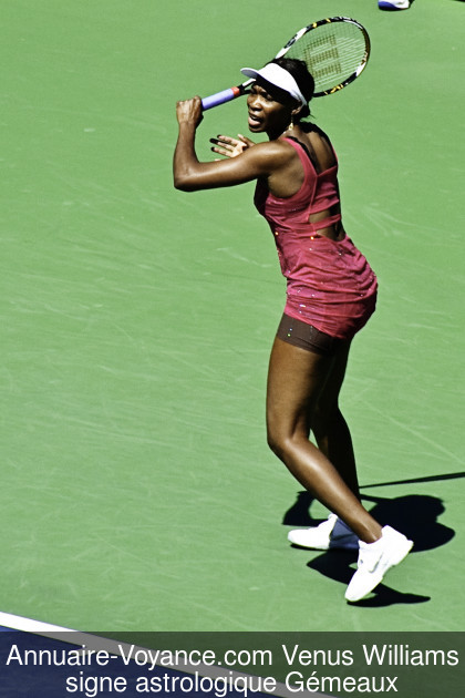 Venus Williams Gémeaux