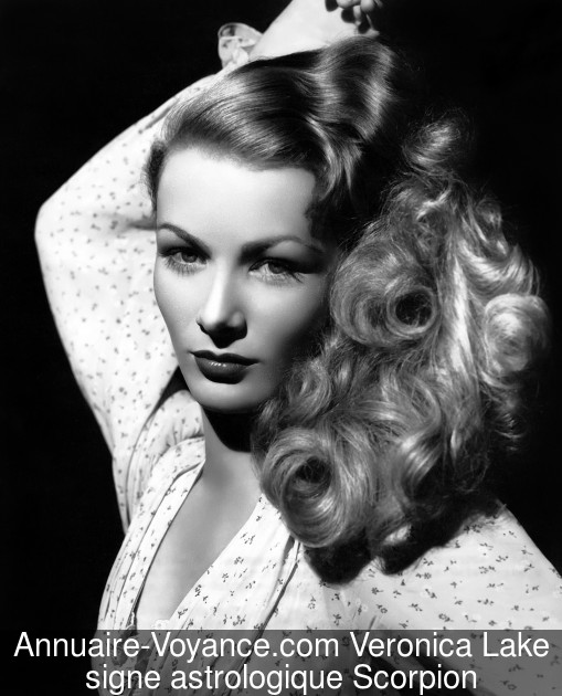 Veronica Lake Scorpion