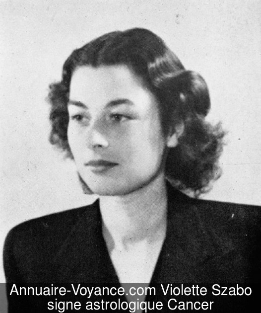 Violette Szabo Cancer