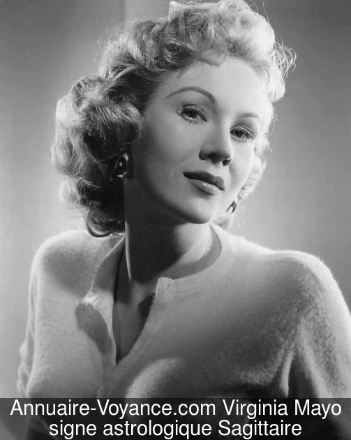 Virginia Mayo Sagittaire