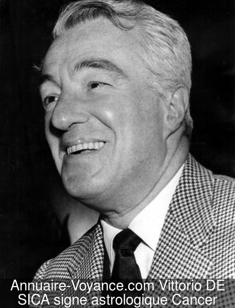 Vittorio DE SICA Cancer