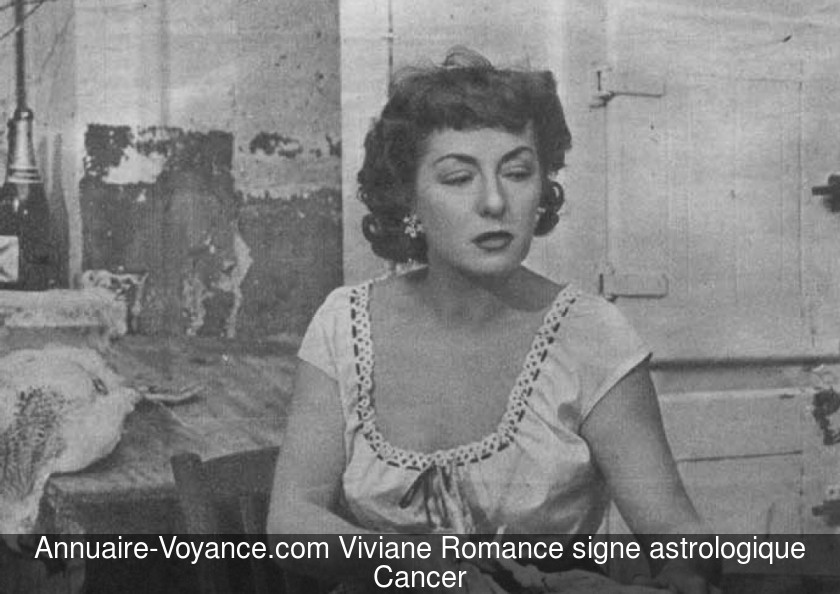 Viviane Romance Cancer
