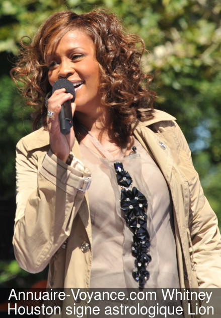Whitney Houston Lion