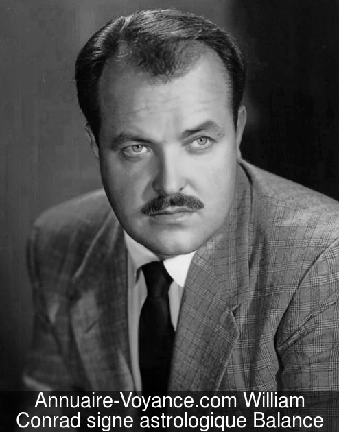 William Conrad Balance