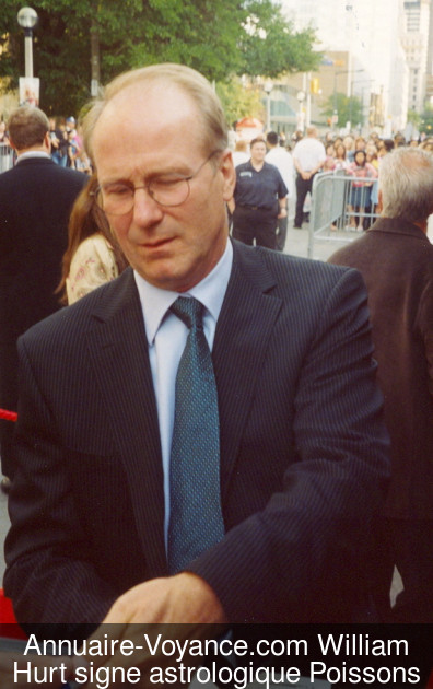 William Hurt Poissons
