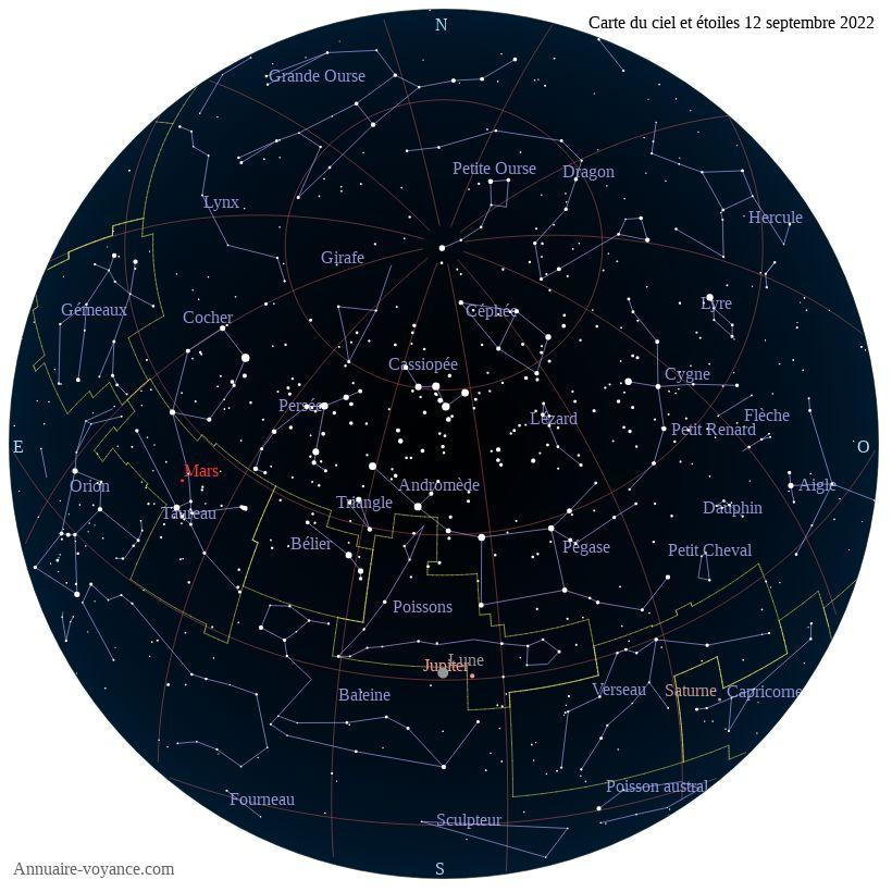 carte du ciel 12-septembre