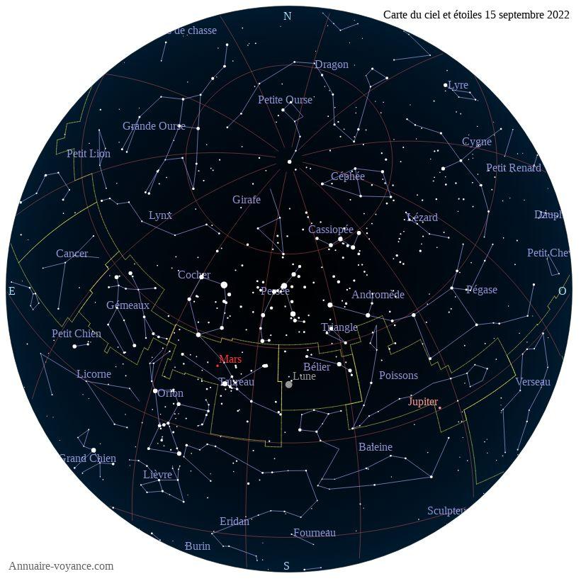 carte du ciel 15-septembre