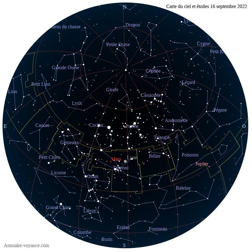 carte du ciel 16-septembre