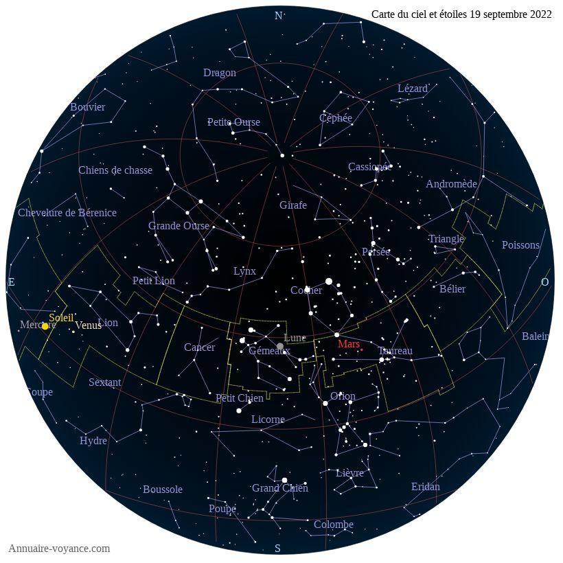 carte du ciel 19-septembre