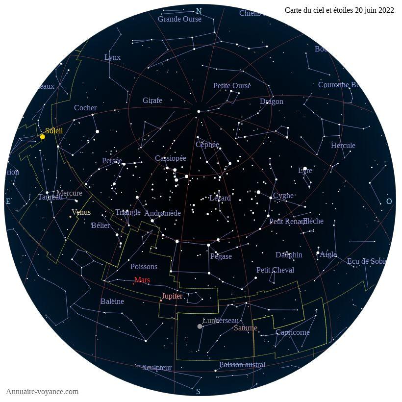 carte du ciel 20-juin