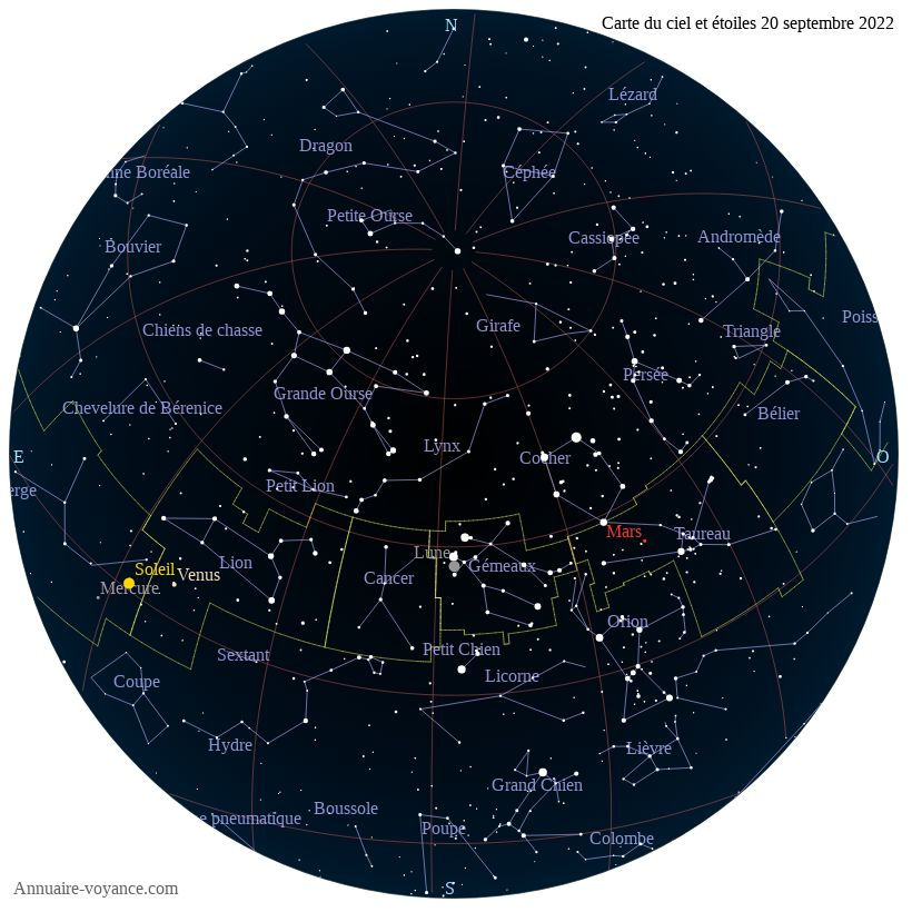 carte du ciel 20-septembre