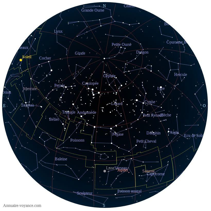 carte du ciel 30-juin